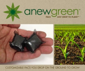 Just Drop to Plant Eco Friendly Seed Pacs